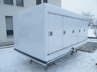 Carlsen 5+5 Türen Carlsen Ice -33°C Fester Hilfsrahmen Eiskühlaufbau 6188 EUR Mulfingen